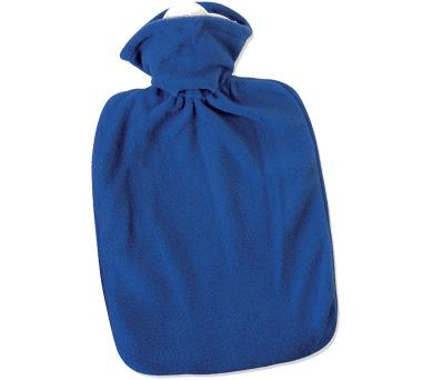 Termofor Hugo Frosch Classic s hladkým fleecovým obalem – modrý