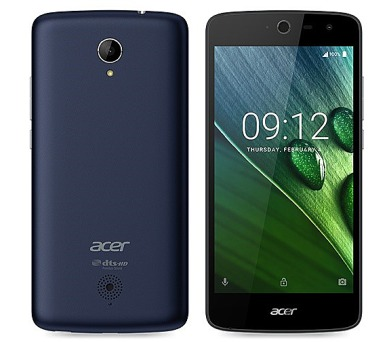 Acer Liquid Zest LTE Dual SIM - modrý