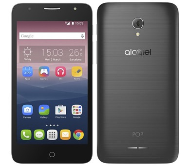 Mobilní telefon ALCATEL POP 4+ 5056D - dark gray + DOPRAVA ZDARMA