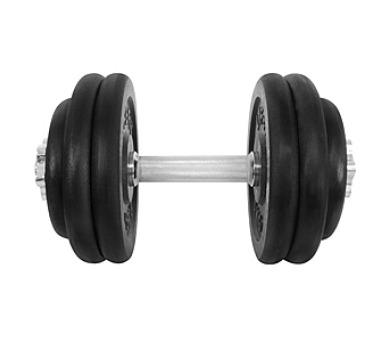 LIFEFIT nakládací jednoruční 27 kg