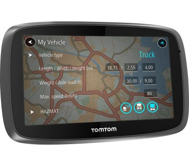 TomTom Trucker 6000 – vydání s doživotními službami