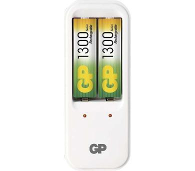 GP nabíječka baterií PB410 + 2 AA NiMH1300