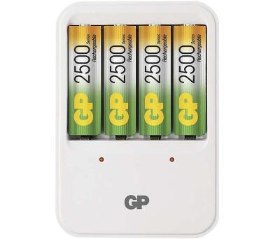 GP nabíječka baterií PB420 + 4AA NiMH2500 + DOPRAVA ZDARMA