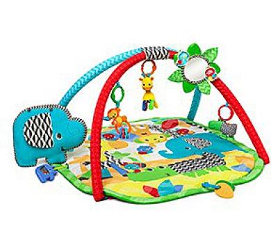 Hrací deka s hrazdou Bright Starts Sensory Safari™ + DOPRAVA ZDARMA