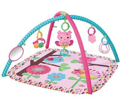 Hrací deka s hrazdou Bright Starts PiP Charming Chirps™