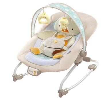 Lehátko/houpátko Bright Starts Cuddles&Quacks™ vibrující s melodií