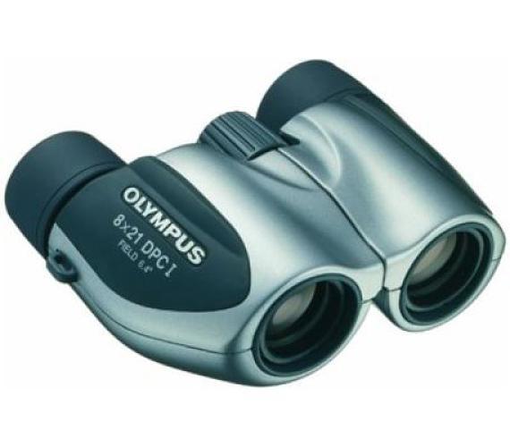 Olympus 8x21 DPC I - stříbrný