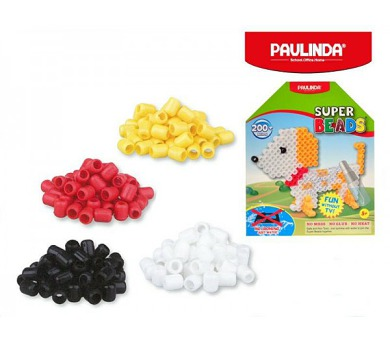 Mozaika vodní perly 200ks pejsek plast 5x6mm Paulinda Super Beads v krabičce