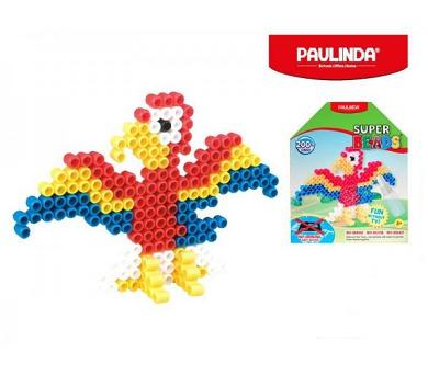 Mozaika vodní perly 200ks papoušek plast 5x6mm Paulinda Super Beads v krabičce