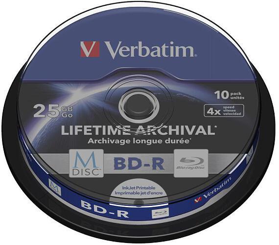 Verbatim BD-R M-Disc 25GB + DOPRAVA ZDARMA