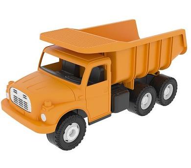 Auto Tatra 148 plast 30cm oranžová sklápěč v krabici + DOPRAVA ZDARMA