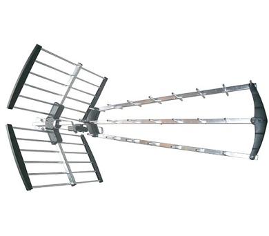 Venkovní DVB-T anténa - UHF 21-60k. 39dB - sada HN59-LTE