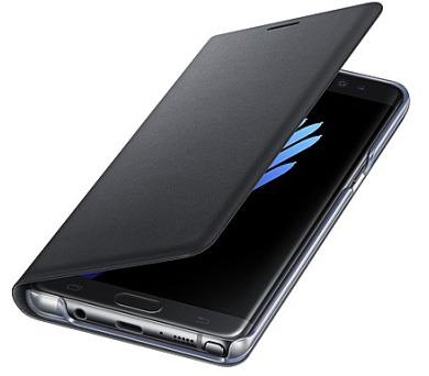 Samsung LED View Cover pro Galaxy Note 7 - černé + DOPRAVA ZDARMA