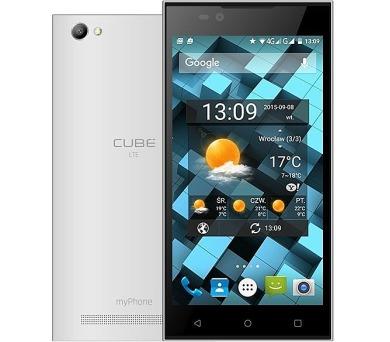 myPhone CUBE LTE bílý + DOPRAVA ZDARMA