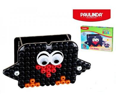 Mozaika vodní perly 110ks 10x8mm stojánek na tužky tučňák s doplňky Paulinda v krabičce + DOPRAVA ZDARMA