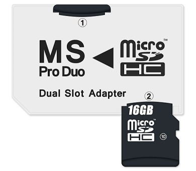 Čtečka paměťových karet Connect IT MS Pro DUO 2xMicro SDHC
