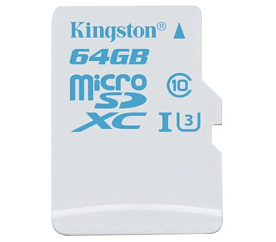Kingston MicroSDXC 64GB UHS-I U3 (90R/45W)