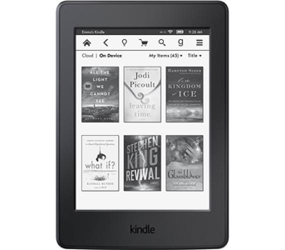 Amazon KINDLE PAPERWHITE 3 2015 bez reklam - černá
