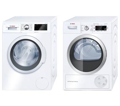 Bosch WAT28660BY + Sušička Bosch WTW85560BY