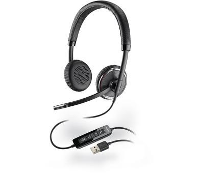 Plantronics náhlavní souprava na obě uši se sponou - Microsoft (BLACKWIRE C520-M) + DOPRAVA ZDARMA
