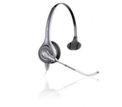 Plantronics náhlavní souprava SupraPlus na jedno ucho se sponou (HW351N/A) + DOPRAVA ZDARMA