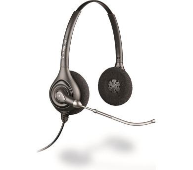 Plantronics náhlavní souprava SupraPlus na obě uši se sponou (HW261/A) + DOPRAVA ZDARMA