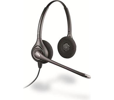 Plantronics náhlavní souprava SupraPlus na obě uši se sponou (HW261N/A) + DOPRAVA ZDARMA