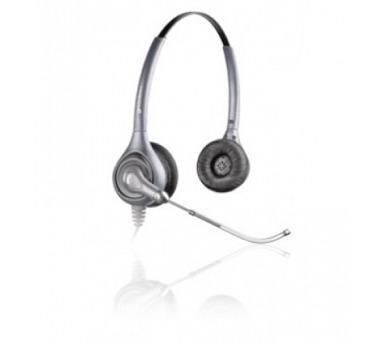 Plantronics náhlavní souprava SupraPlus na obě uši se sponou (HW361/A) + DOPRAVA ZDARMA