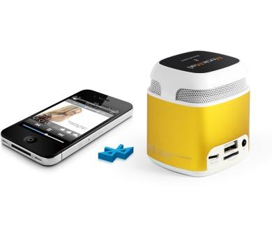Technaxx přenosný Bluetooth a NFC reproduktor Makro Mini MusicMan + DOPRAVA ZDARMA