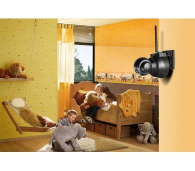 Technaxx bezdrátová bezpečnostní kamera s otočnou hlavou pro vnitřní použití (TX-23) + DOPRAVA ZDARMA