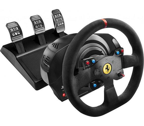 Thrustmaster Sada volantu a pedálů T300 Ferrari 599XX EVO Alcantara pro PS3/4/5