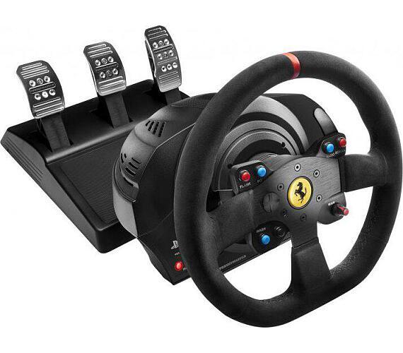 Thrustmaster Sada volantu a pedálů T300 Ferrari 599XX EVO Alcantara pro PS3