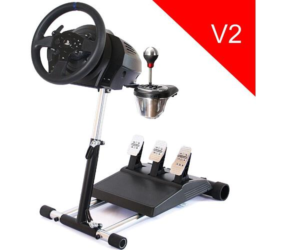 Wheel Stand Pro DELUXE V2,stojan pro volant a pedály Thrustmaster T300RS,TX,TMX,T150,T500,T-GT,TS-XW + DOPRAVA ZDARMA