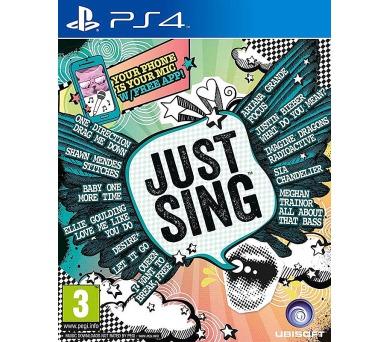 Ubisoft PlayStation 4 Just Sing + DOPRAVA ZDARMA