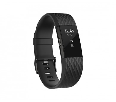 Fitbit Charge 2 large - Black Gunmetal
