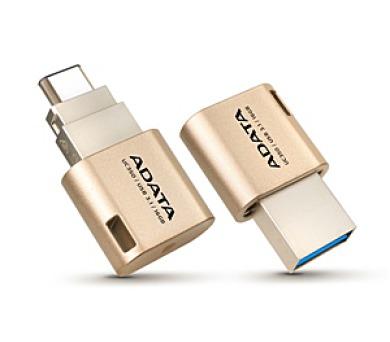 ADATA UC350 16GB USB-C - zlatý