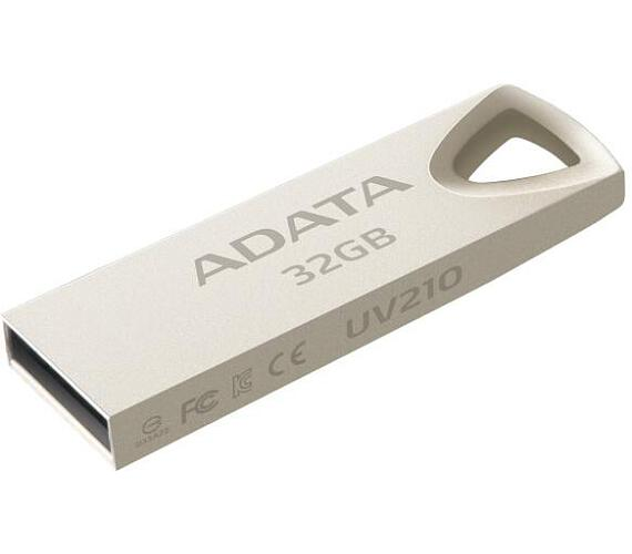 A-Data UV210 32GB USB 2.0 - kovová