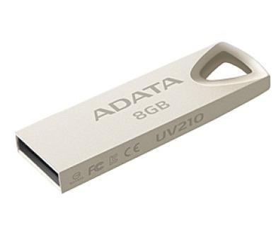 A-Data UV210 8GB USB 2.0 - kovová