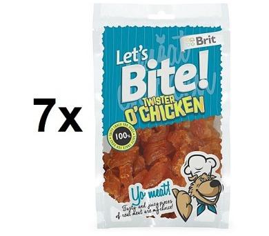 Brit Lets Bite Twister Chicken 7 x 80 g