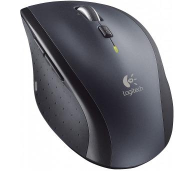 Logitech Wireless Mouse M705 Marathon / laserová / 8 tlačítek / 1000dpi - černá/šedá