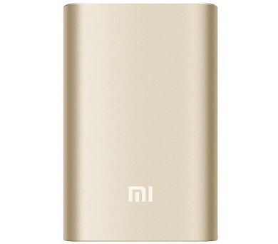 Xiaomi 10000 mAh - zlatá