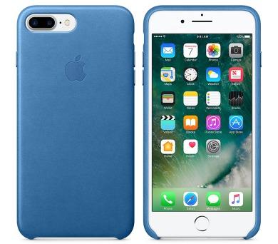 Apple Leather Case pro iPhone 7 Plus - jezerně modrý + DOPRAVA ZDARMA