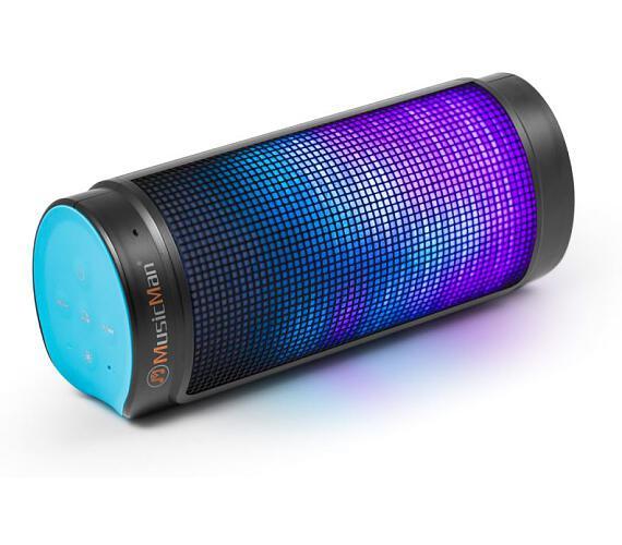 Technaxx přenosný Bluetooth reproduktor LED LIGHT MusicMan + DOPRAVA ZDARMA