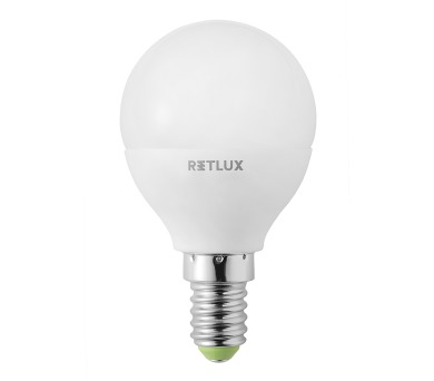 RLL 46 LED G45 6W E14 Retlux