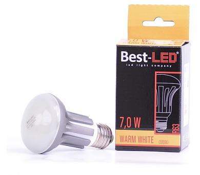 Best-Led E27 7W tep.bílá BA55-7-W