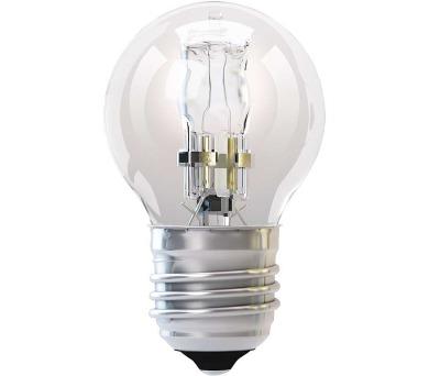 Halogenová žárovka ECO Mini Globe 42W E27 teplá bílá