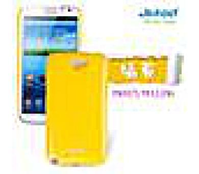 JEKOD Shiny Pouzdro Yellow pro Samsung N7100 Galaxy Note2