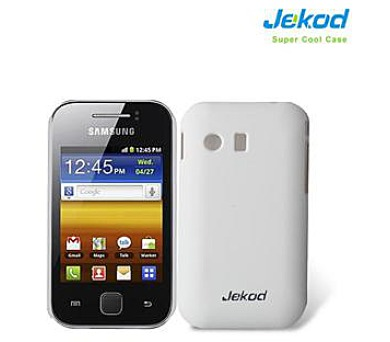 JEKOD Super Cool Pouzdro White pro Samsung S5360