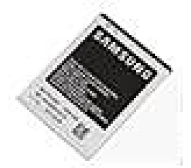 Samsung baterie 1650mAh Li-Ion (Bulk)