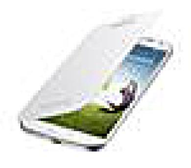 Samsung kryt s flipem EF-FI950BWE pro Galaxy S IV (i9505) White